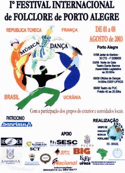 Cartaz Festival  2003