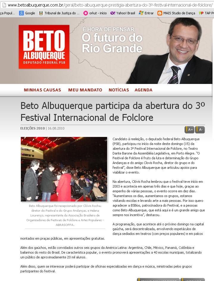 DEPOIMENTO BETO ALBUQUERQUE