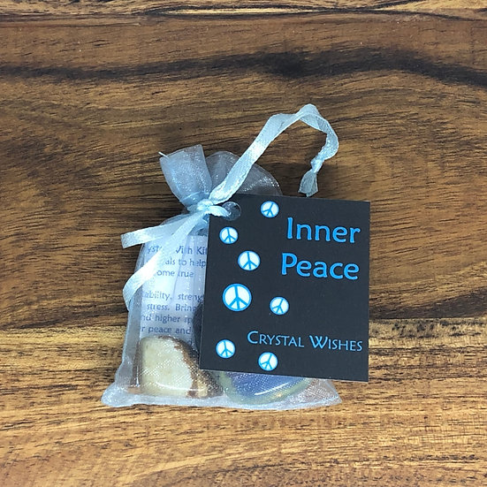 Inner Peace Crystal Wish Kit - LMG Rocks and Crystals