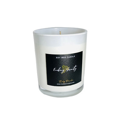 Baby Powder Large Soy Wax Candle - Evoking Serenity