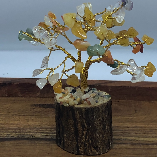 Chakra Bonsai Crystal Tree - LMG Rocks and Crystals