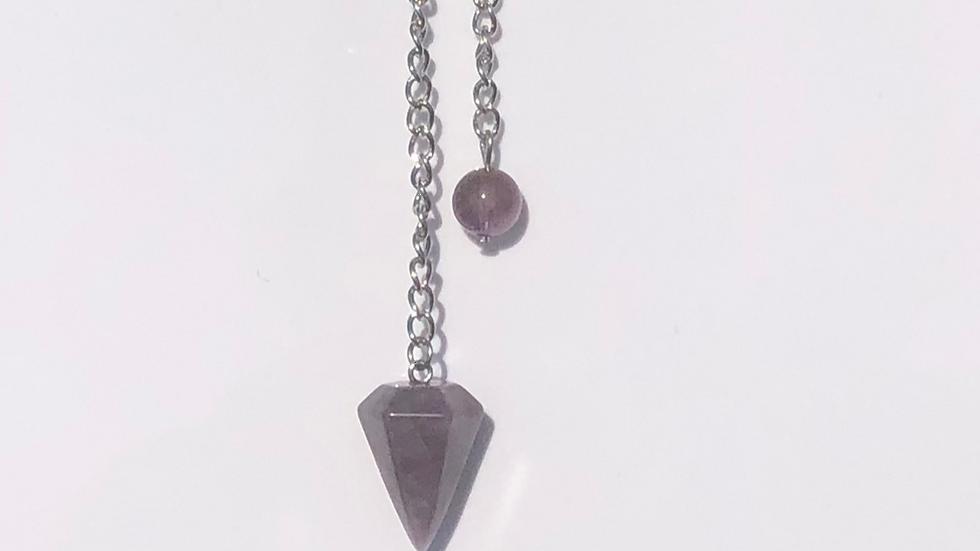 Amethyst Pendulums- LMG Rocks and Crystals