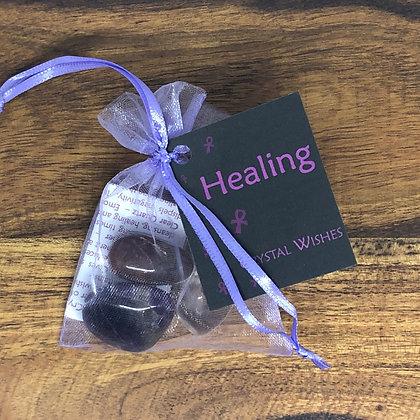 Healing Crystal Wish Kit - Evoking Serenity