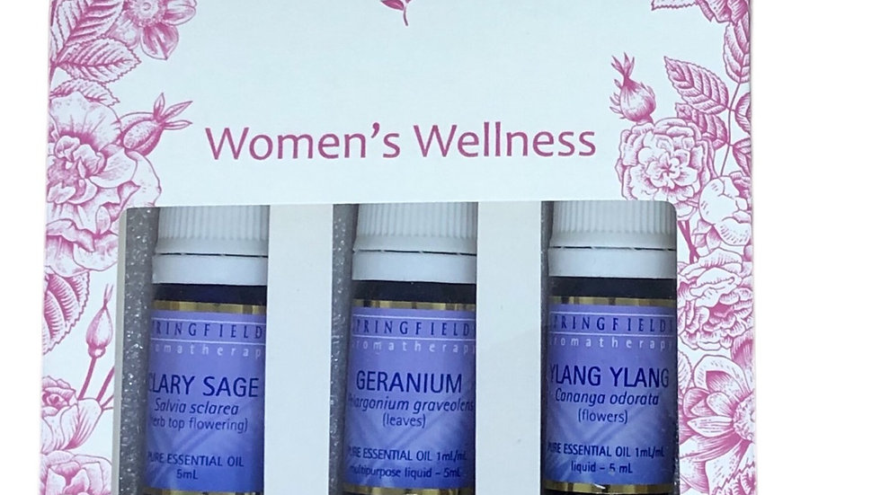 Springfileds Women's Wellness Collection 3 pack