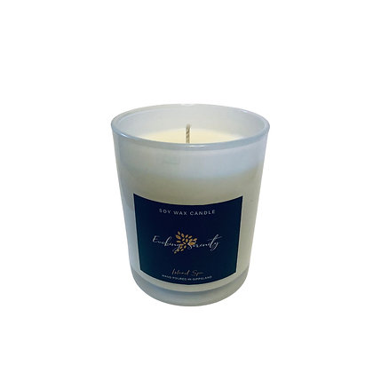 Island Spa Large Soy Wax Candle - Evoking Serenity