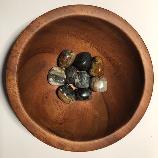 Picasso Stone Tumbled - LMG Rocks and Crystals