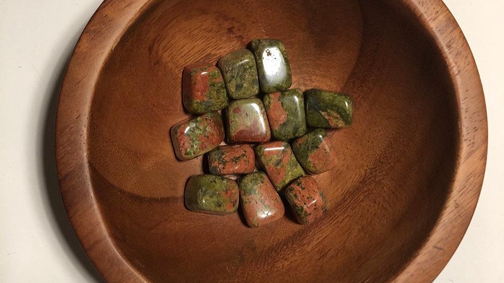 Unakite Tumbled LMG Rocks and Crystals