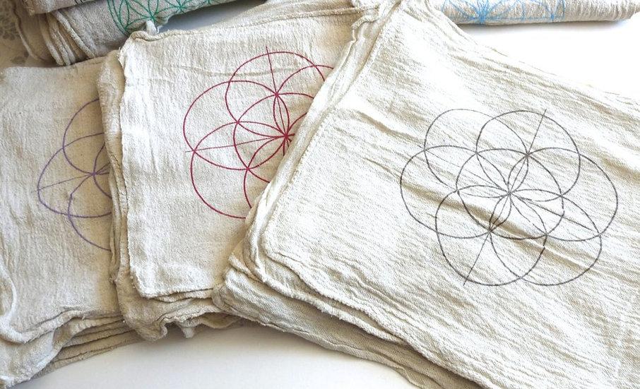 Seed of Life Crystal Grid Cloth