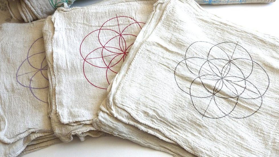 Seed of Life Crystal Grid Cloth