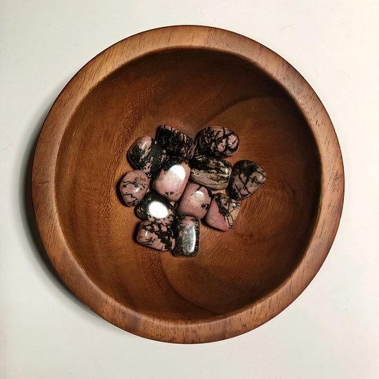 Rhodonite Tumbled - LMG Rocks and Crystals