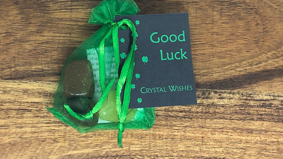 Good Luck Crystal Wish Kit - LMG Rocks and Crystals
