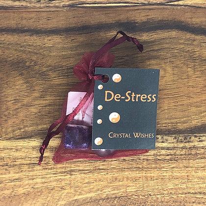 De-Stress Crystal Wish Kit - Evoking Serenity
