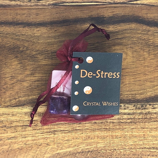 De-Stress Crystal Wish Kit - LMG Rocks and Crystals