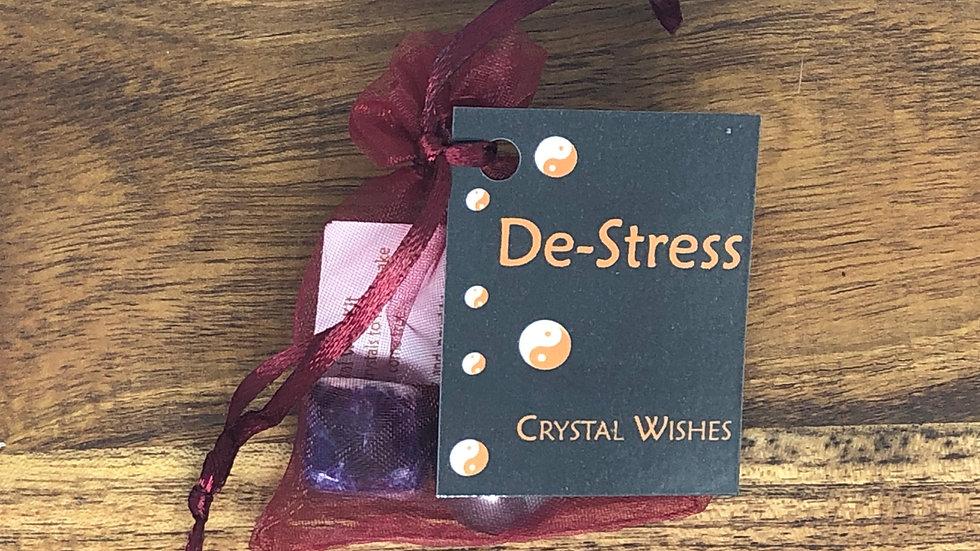 De-Stress Crystal Wish Kit - LMG Rocks and Crystals