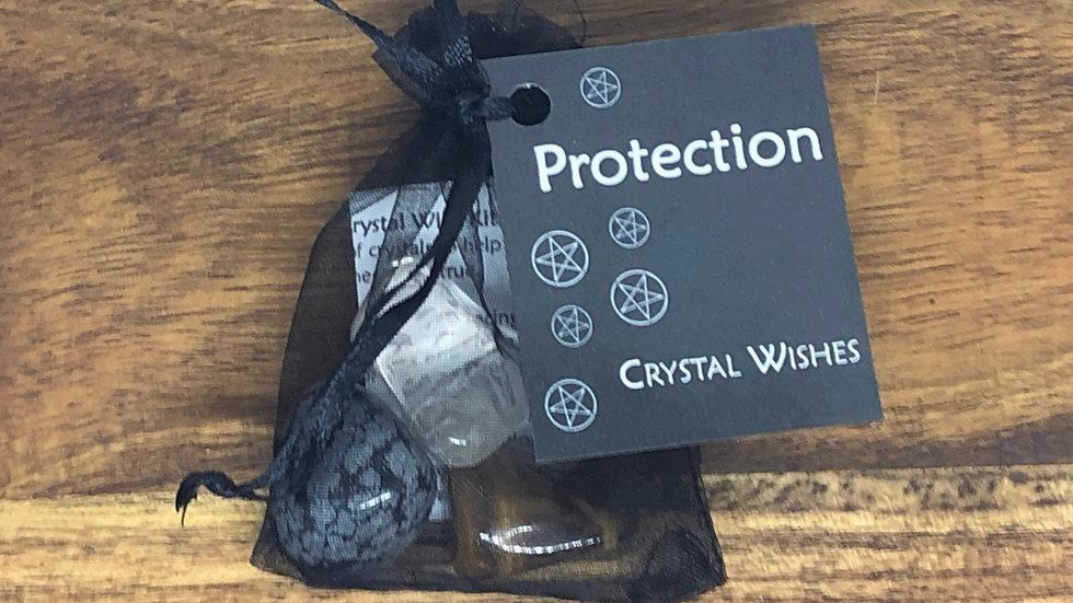 Protection Crystal Wish Kit - LMG Rocks and Crystals