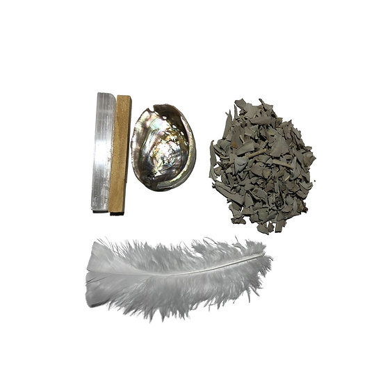Cleansing Smudge Kit - LMG Rocks and Crystals