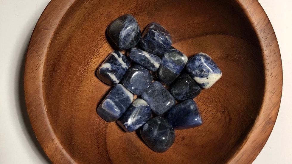Sodalite Tumbled - LMG Rocks and Crystals