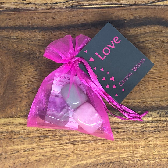 Love Crystal Wish Kit - LMG Rocks and Crystals