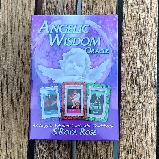 LMG Rocks and Crystals - Angelic Wisdom Oracle Cards