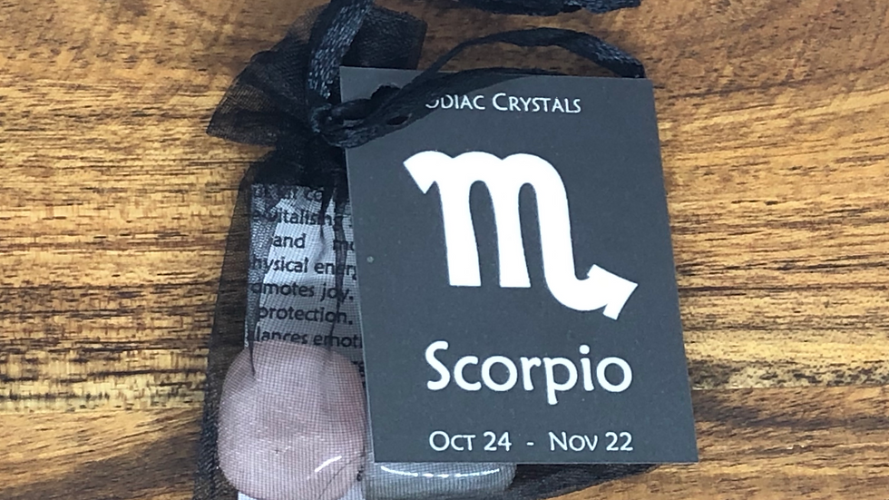 Scorpio Zodiac Crystal Set - LMG Rocks and Crystals