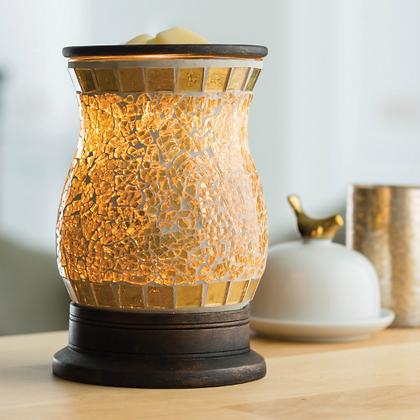 Gilded Glass Illumination Warmer