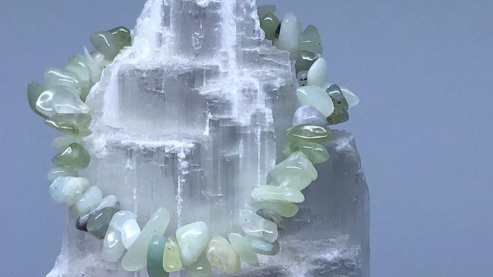 New Jade Crystal Chip Bracelet - LMG Rocks and Crystals
