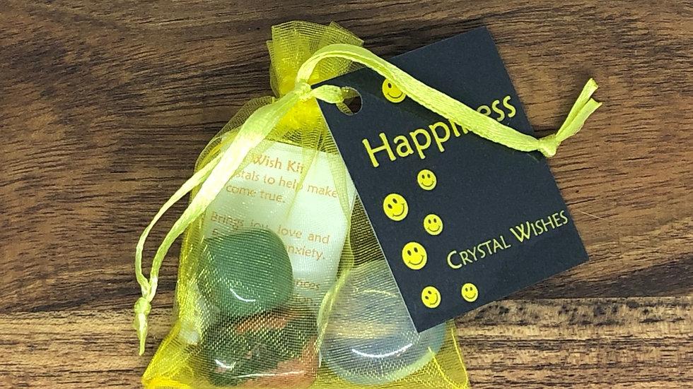Happiness Crystal Wish Kit - LMG Rocks and Crystals