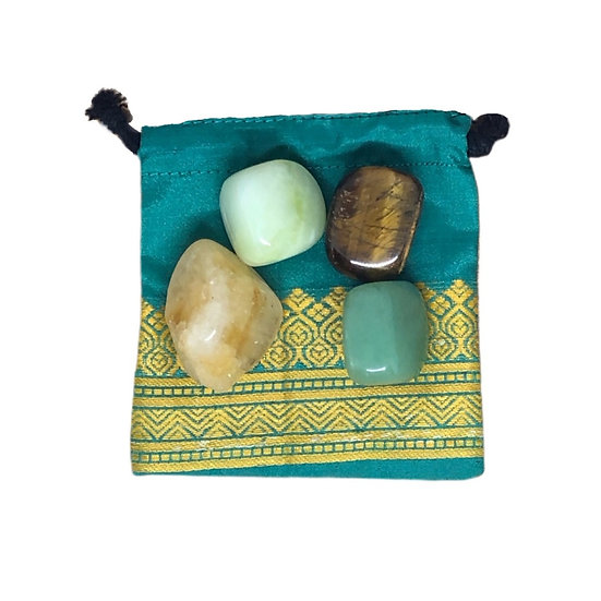 Abundance (Wealth) Crystal Set
