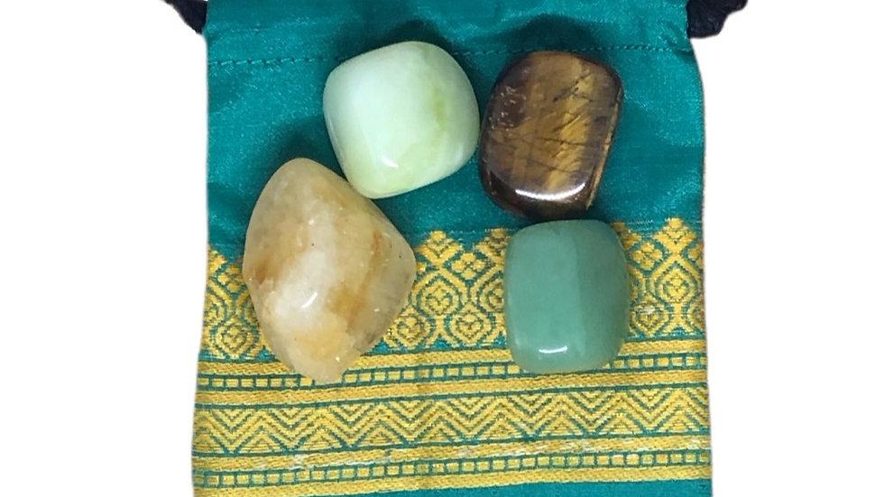 Abundance (Wealth) Crystal Set