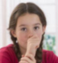 Teenager sucking thumb