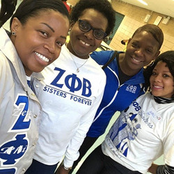 The Downtown NYC Zetas were honored to participate in this year's New York Cares Day. Our sorors vol