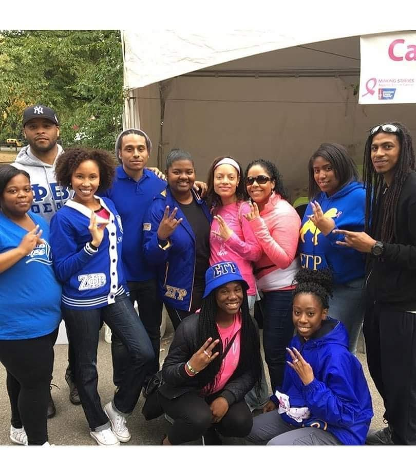 AAYZ Sorors and fellow NPHC members