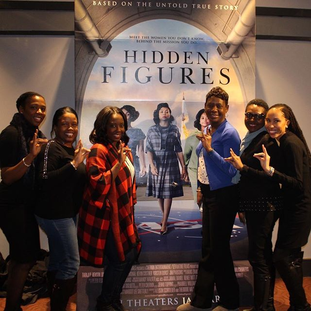 I said my Sorors!!! #HiddenFigures #ConnectWithAAYZ #DowntownNYCZetas #AAYZ #ZetasGetEngaged #WeAreM