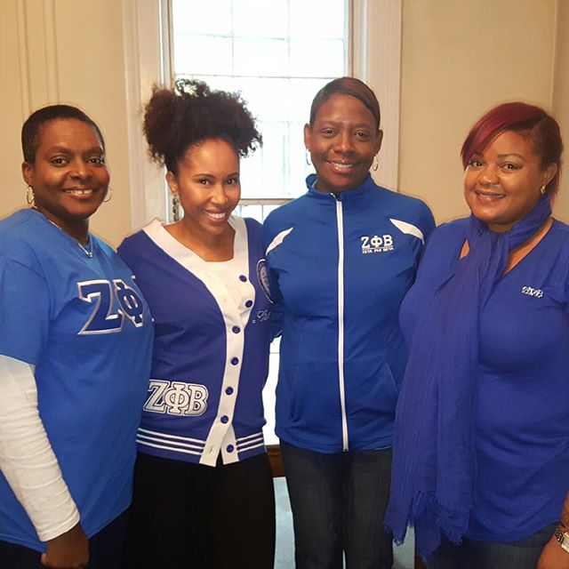 AAYZ Sorors this past Saturday at St