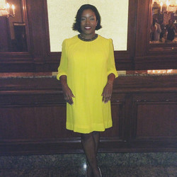 The Downtown NYC Zetas are so proud of our Basileus Soror Chatman, who looked beautiful in yellow as