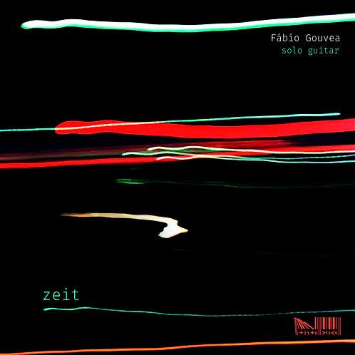 """Fabio Gouvea -""""Zeit"""" - CD"""
