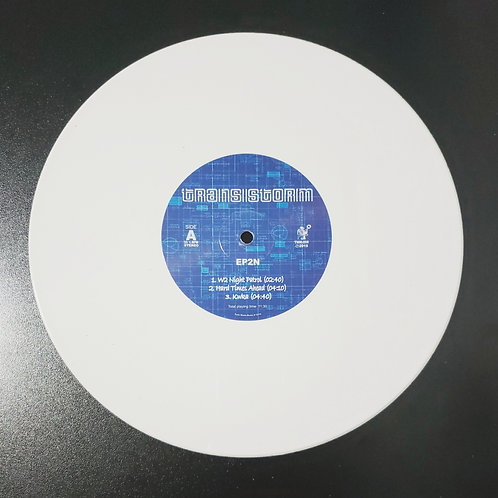 "Transistorm - ""EP2N"" - Vinil 10 polegadas branco (2019)"