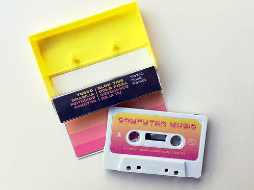 """Stvz - """"Computer Music"""" (2019) - cassette"""
