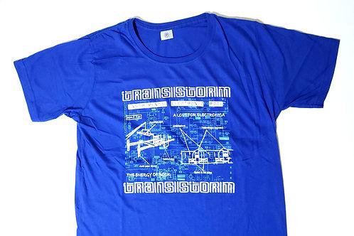 Camiseta Transistorm azul
