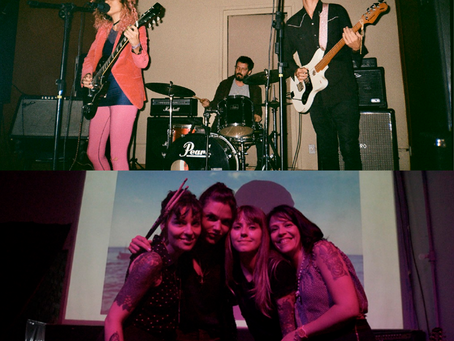 Bandas Cheyenne Love e Parallèles lançam split album em fita cassete