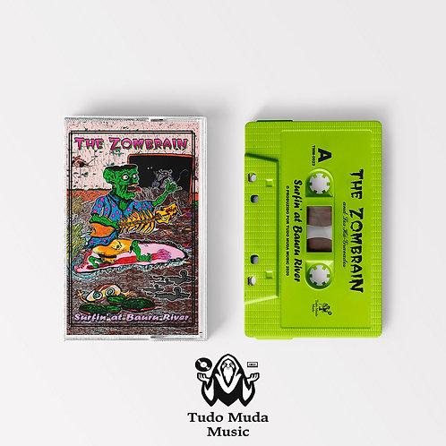 "The Zombrain - ""Surfin' at Bauru River"" - cassette"