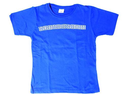 Camiseta infantil frente / costas
