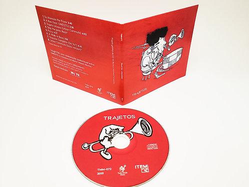 "Urbanismo - ""Trajetos"" - CD limitado, numerado"