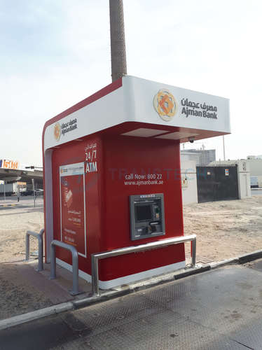 Drive-Thru Surround for Ajman Bank