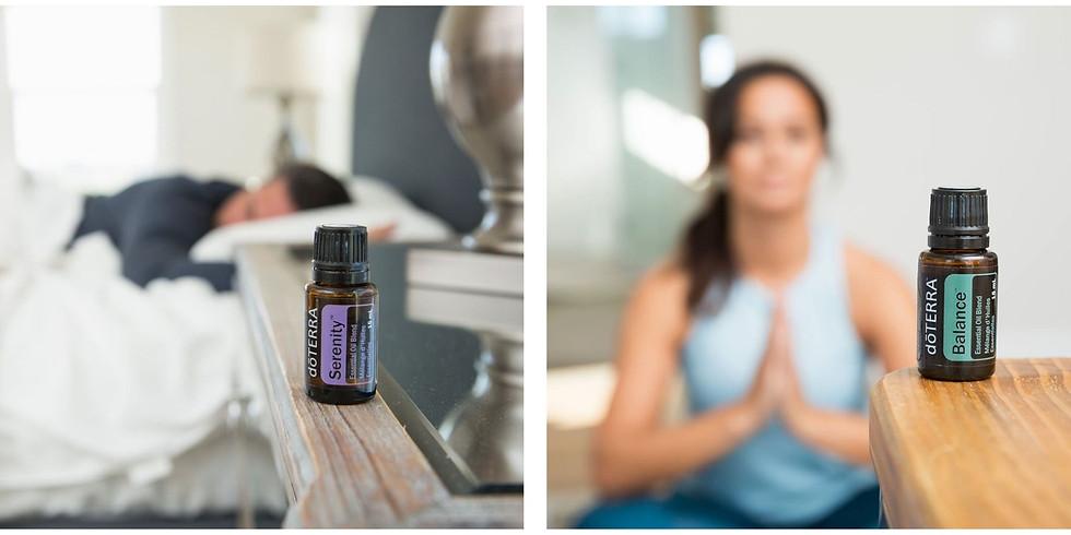 Stress/Sommeil & huiles essentielles