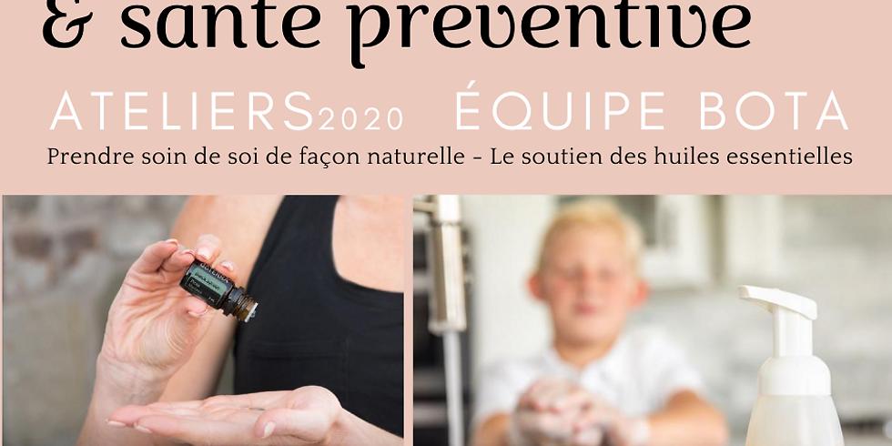 Système immunitaire, santé préventive - Huiles essentielles