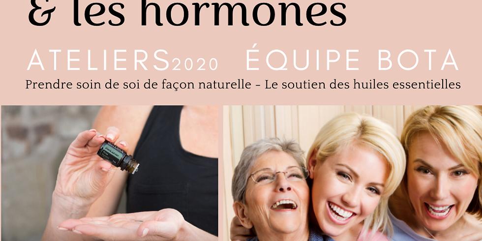 La santé des femmes & Les hormones - Huiles et produits doTERRA