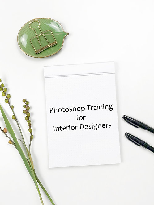 Training Tutorial: Photoshop for Interior Designers