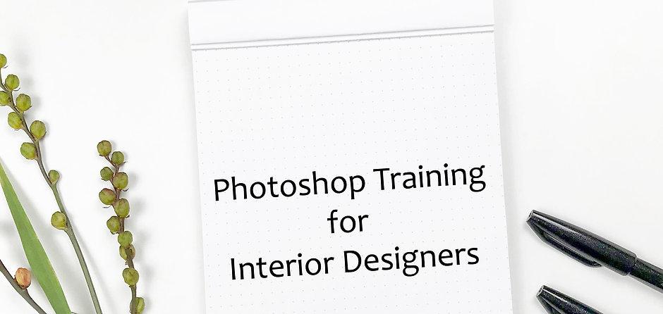 Training Tutorial: Photoshop for Interior Designers