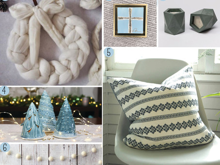 2017 Holiday Gift Guide: Handmade Home Decor Edition